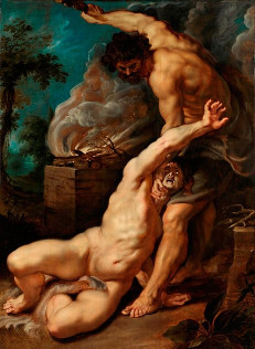 Cain and Abel by Peter Paul Rubens